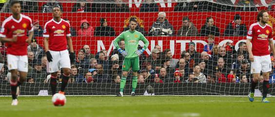 Manchester United v Leicester City - Barclays Premier League
