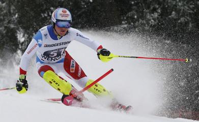 Alpine Skiing - FIS Alpine Skiing World Cup - Men's Super Combined