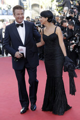Actor Baldwin and actress Thomas arrive on the red carpet for the screening of the film Moonrise Kingdom in competition at the 65th Cannes Film Festival