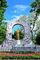 Johann Strauss Statue in Wien