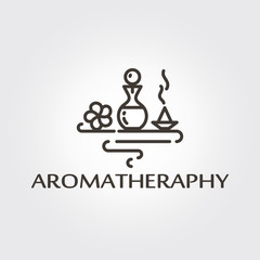 Aromatheraphy - logo template