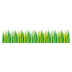 grass icon over white background. vector illustration