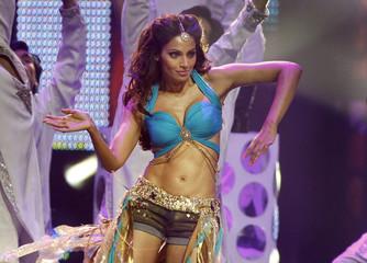 Bollywood actress Bipasha Basu dances during the International Indian Film Academy (IIFA) show in Toronto