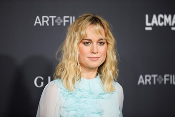 Actor Brie Larson poses at the LACMA Art+Film Gala in Los Angeles