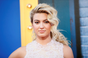 """Actor Tori Kelly poses at the world premiere of the film """"Sing"""" in Los Angeles, California"""