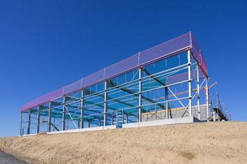 Neubau einer Gewerbehalle