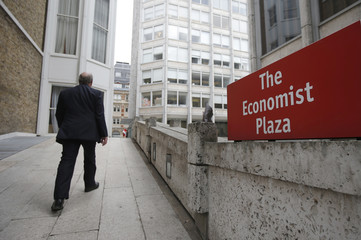 The headquarters of the Economist editorial offices in London.