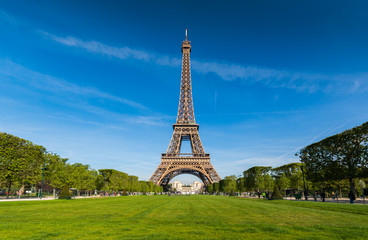 Eiffle tower ,Urban Skyline, Paris, France Fototapete
