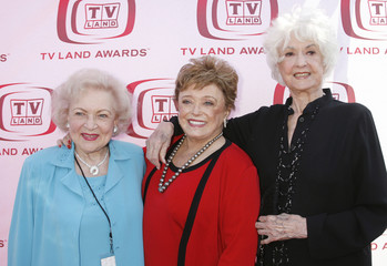 File photo of actresses White, McClanahan and Arthur posing at taping of 6th annual TV Land Awards in Santa Monica