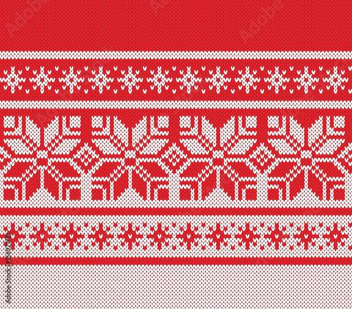 7e88aa6b4457 Winter Sweater Design. Seamless Knitting Pattern
