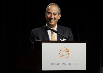 Thomson Reuters CEO Glocer speaks as at their Annual Meeting of Shareholders in Toronto
