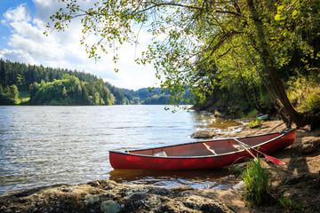 Kanu am Ottensteiner Stausee