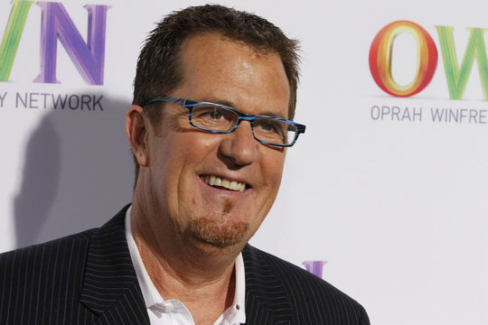 Clutter and organization expert Peter Walsh arrives at the OWN: Oprah Winfrey Network launch cocktail reception for the Television Critics Association in Pasadena