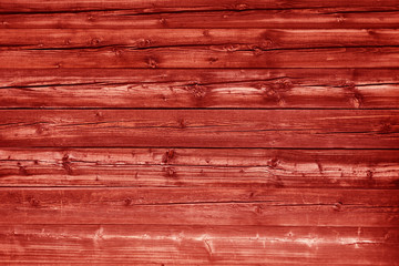 Natural red colored pine wood panels as background