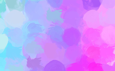 paint like pastel color splash abstract vector background