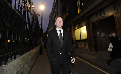 The Sun newspaper editor Dominic Mohan leaves the Leveson Inquiry after lunch at the High Court in central London