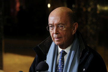 Billionaire investor Wilbur Ross departs Trump Tower after a meeting with U.S. President-elect Donald Trump in New York