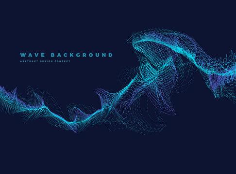 particle ocean wave