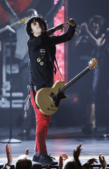 Armstrong of the band Green Day performs at the American Theatre Wing's 64th annual Tony Awards ceremony in New York