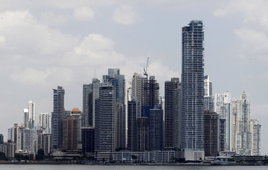 A general view of Panama City
