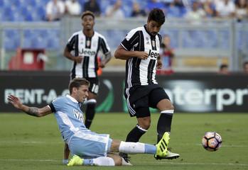 Football - Soccer - Lazio v Juventus - Italian Serie A
