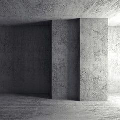 Abstract square architectural background