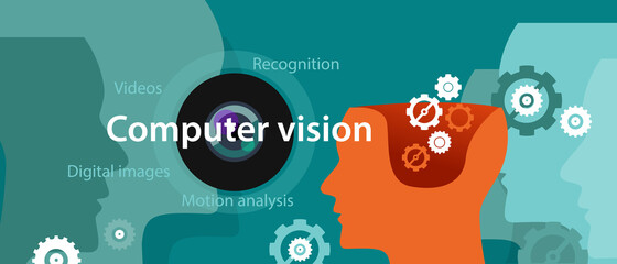 computer vision technology illustration digital image recognition
