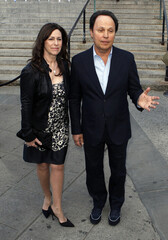 Billy Crystal and his wife Janice arrive to attend the Vanity Fair party to begin the 2012 Tribeca Film Festival in New York