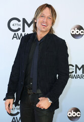 Keith Urban arrives at the 47th Country Music Association Awards in Nashville