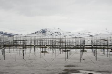 centre de recherche sur le magnétisme, Longyearbyen, Spitzberg, Svalbard, Norvège
