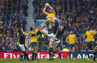 Australia v Scotland - IRB Rugby World Cup 2015 Quarter Final