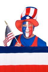 Fourth of July man