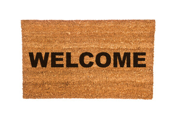 Doormat with Welcome Text