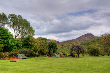 Holyrood Park in Edinburgh, Scotland.