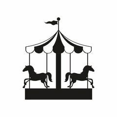 Carousel. Vector illustration for design