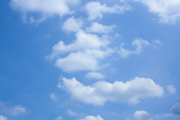 sky and cloud. clear day. blue sky.