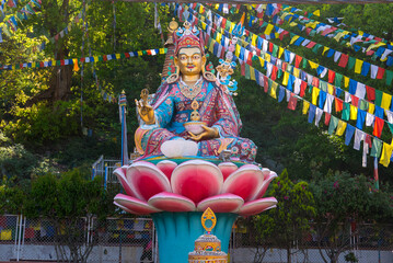 Buddha auf Lotus in Nepal
