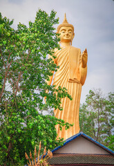 Buddha statue temple in Kamchanod Udon Thani Province Thailand.