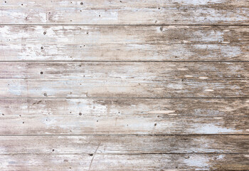 Old white gray wood planks background
