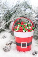 Bucket of Christmas Candy