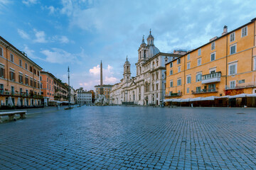Rome. Navona Square. Piazza Navona.