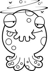 Drunk Cartoon Monster