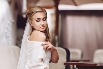 Portrait of a Beautiful Bride.