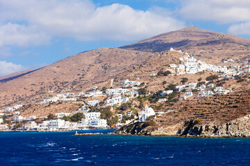 Ios island in Greece