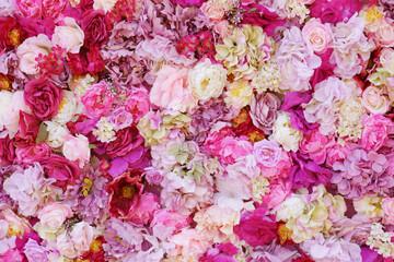 Photo sur Aluminium Fleurs Vintage Beautiful flowers as background
