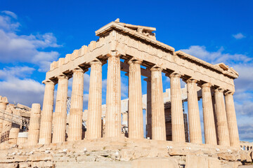Wall Murals Place of worship Parthenon Temple in Athens