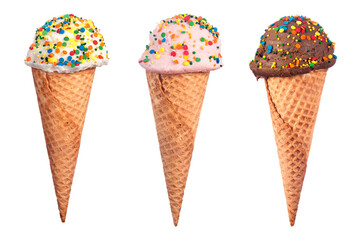 Ice Cream Cone Assortment