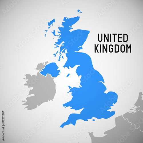 Great Britain - map