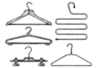 Set of coat hanger