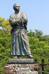 風頭公園 坂本龍馬像